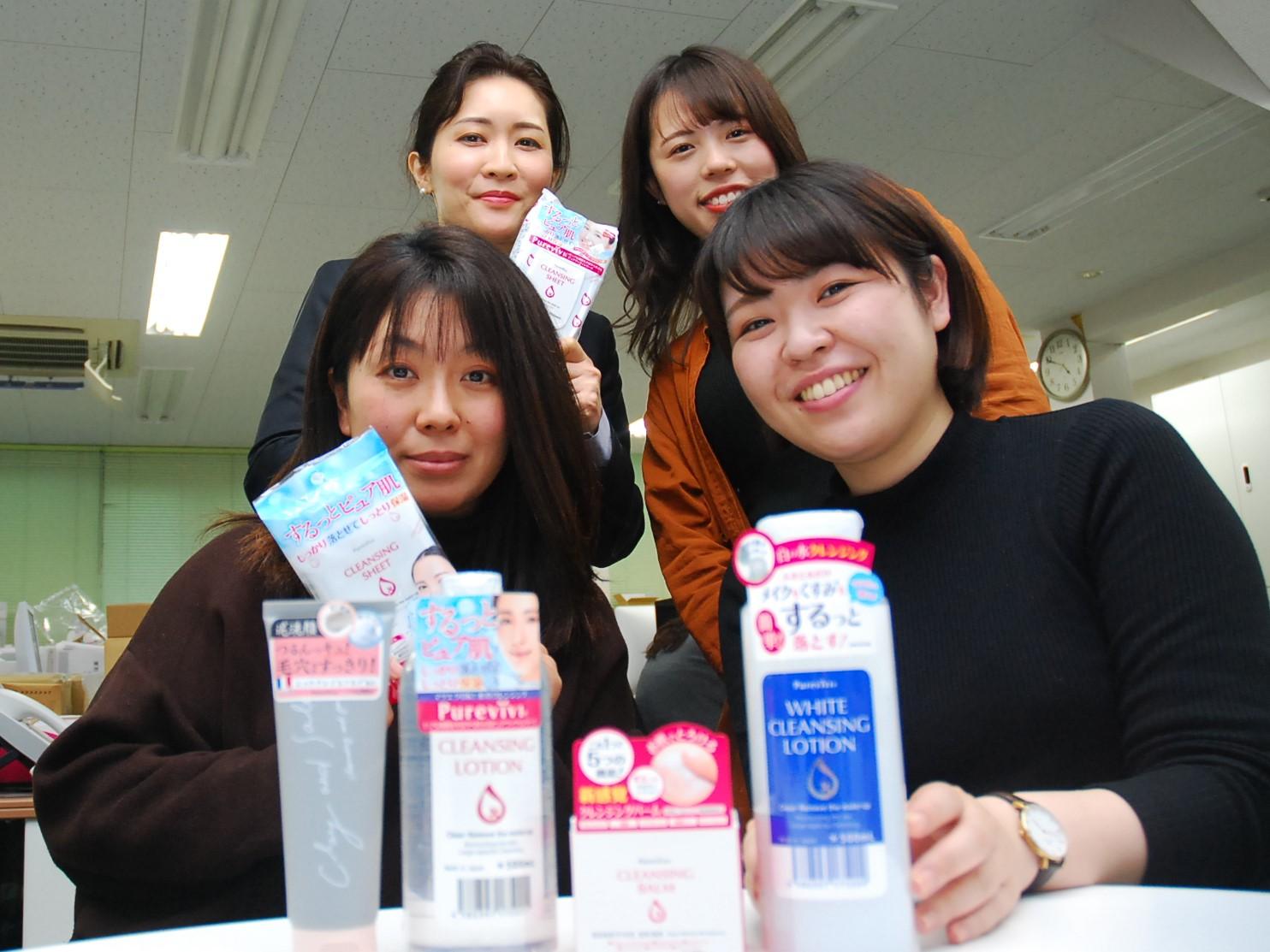 【ピュアヴィヴィ】ブランドオフィシャルでの積極的なPR活動で、新規お取引先130超店舗に導入実績 サムネイル画像