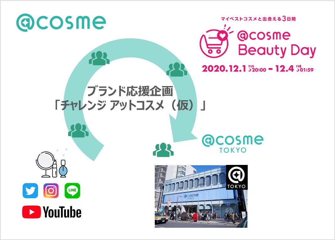 @cosme Beauty Dayからスタート!ブランド様とユーザーの出会いを創る新企画【募集終了】 サムネイル画像